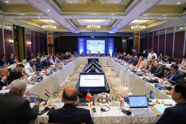 Extraordinary Session of the Executive Board of Association of World Election Bodies in Bengaluru on September 2nd 2019