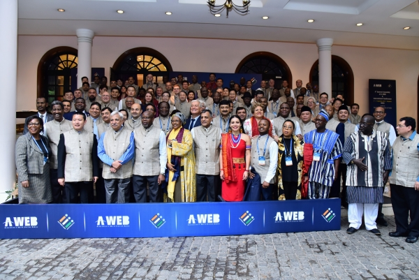 Delegates of 4th General Assembly of AWEB held at Bangalore on 3d September 2019