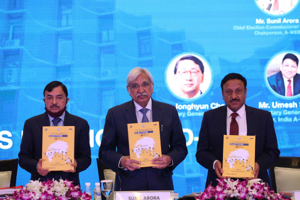 "Release of ""International Experiences of Conducting Elections in 2020 during COVID-19"" document by Election Commission of India"